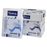LYRECO A4 PAPER 80GSM WHITE - BOX OF 5 REAMS