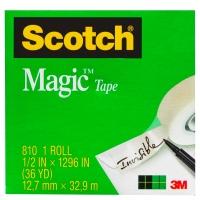 SCOTCH MAGIC TAPE 810 12MMX33M - EACH