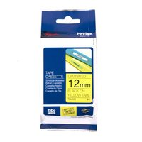 BROTHER TZe-631 LABEL TAPE 12MM BLACK ON YELLOW - EACH