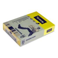 LYRECO INTENSE TINTED PAPER 80GSM A4 YELLOW - REAM OF 500 SHEETS