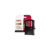 OKI PRINTER RIBBON 44641501 BLACK - EACH