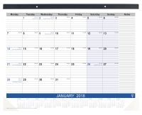TABLETOP PLANNER DEBDEN MONTH TO A VIEW 440X560MM