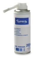 LYRECO PAPER LABEL REMOVER SPRAY 200ML - EACH