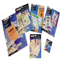 REXEL LAMINATING POUCH REXEL 125MICRON A4 GLOSS - PACK OF 100