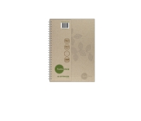 TUDOR 70% RECYCLED ECO HARD COVER NOTE BOOK A4 200 PAGE - EACH