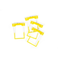 AVERY YELLOW TUBECLIP FILE FASTENER 3 PIECE SET, 500 PER PACK