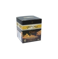 TWININGS CHAI TEA BAGS ENVELOPES - PACK OF 10