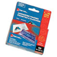 REXEL LAMINATING POUCH 180MICRON (54X86) - PACK OF 50