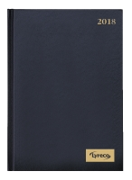 DIARY LYRECO 2 DAYS TO A PAGE A5 BLACK