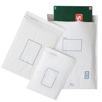 JIFFY CD MAILER BUBBLE BAG 180 X 280MM WHITE - BOX OF 100