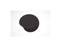LYRECO GEL MOUSE PAD AND WRIST REST LYCRA BLACK - EACH