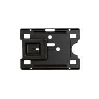 REXEL FUEL/IDENT CARD PROTECTION HOLDER W ADJUSTABLE POCKET CLIP BLACK PACK 10