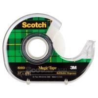 SCOTCH MAGIC TAPE 810 WITH DISPENSER 19MMX33M - EACH