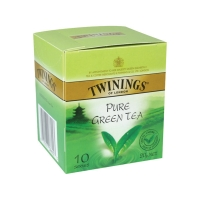 TWININGS GREEN TEA BAGS STRING & TAG - PACK OF 10