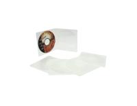 LONG MAX 1-CD/DVD SLIM CASES TRANSPARENT - PACK OF 5