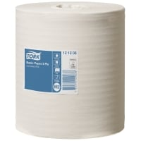 TORK BASIC CENTREFEED M2 HAND TOWEL ROLL 2 PLY 160M - BOX OF 6