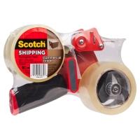 SCOTCH BP-1 PACKAGING TAPE GUN + 2 ROLLS OF PACKAGING TAPE - EACH