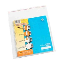 MARBIG RESEALABLE POLYBAG 305 X 230MM CLEAR - PACK OF 100