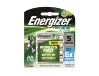 ENERGIZER RECHARGE EXTREME AA BATTERY - PACK OF 4