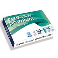 EVERCOPY A3 PREMIUM 100% RECYCLED PAPER 80GSM WHITE - REAM OF 500 SHEETS