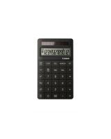 CANON X MARK 2 12 DIGIT DESKTOP CALCULATOR 160X95X10.8MM BLACK - EACH