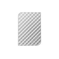 VERBATIM 2.5 HARDDRIVE 3.0 1TB GRID DESIGN SILVER - EACH