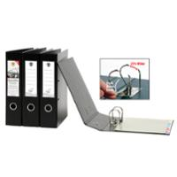 MARBIG 6505002 QUICKFILE LEVER ARCH FILE PVC A4 BLACK - EACH