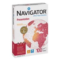 NAVIGATOR A4 PRESENTATION PAPER 100GSM WHITE - REAM OF 500 SHEETS