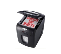 REXEL STACK & SHRED AUTO+100 PERSONAL SHREDDER 435X310X445MM