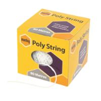 MARBIG POLY STRING BALL 80M WHITE - EACH