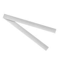 QUARTET MAGNETIC STRIPS 25X30MM WHITE - PACK OF 2