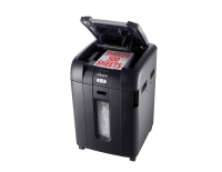 REXEL STACK & SHRED AUTO+500 DEPARTMENTAL SHREDDER CROSS CUT 817X570X528MM