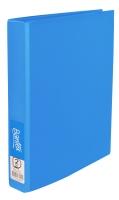 BANTEX  RING BINDER  FRUIT COLOURS 2D-RING 25MM A4 BLUEBERRY - EACH
