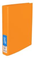 BANTEX  RING BINDER  FRUIT COLOURS 2D-RING 25MM A4 MANGO - EACH