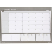 BANTEX UNDATED MONTHLY PLANNER DESK PAD A2 - EACH