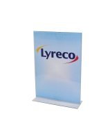 LYRECO PORTRAIT MENU HOLDER  A4 - EACH