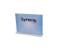 LYRECO LANDSCAPE MENU HOLDER A4 - EACH