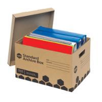 MARBIG ENVIRO ARCHIVE BOX 315X420X260MM - PACK OF 5