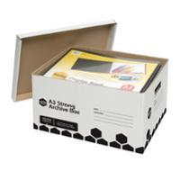 MARBIG A3 ARCHIVE BOX 385X500X280 - EACH