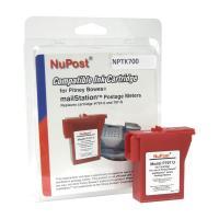 NUPOST POSTAGE METER INK CARTRIDGE NPTK700 RED - EACH