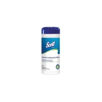 4100 Scott® Antibacterial Wipes, 70 wipes/canister