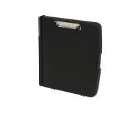 MARBIG SLIM STORAGE CLIPBOARD A4 BLACK - EACH