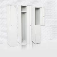 GO STEEL LOCKER 1 DOOR 305X455X1830MM SILVER GREY - EACH