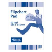 LYRECO FLIPCHART PAPER - EACH