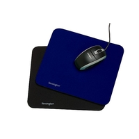 KENSINGTON MOUSE PAD 260X222X6 BLUE - EACH