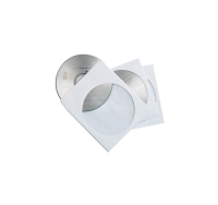 LONG MAX 1-CD/DVD ENVELOPES WITH CLEAR WINDOW - PACK OF 50