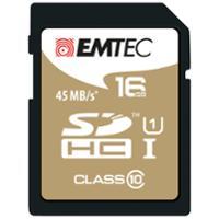EMTEC GOLD SDHC MEMORY CARD 150X 16GB - EACH