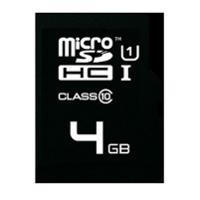 EMTEC GOLD MICROSDHC M/CARD W/A 150X 4GB - EACH