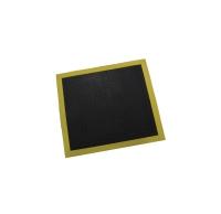 3M 3300 SAFETY WALK CUSHION MAT 710 X 790MM BLACK CENTRE WITH YELLOW EDGE - EACH