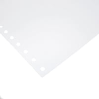 ALLIANCE 1 PART PERFORATED COMPUTER PAPER PLAIN 70GSM 11X9.5  - BOX OF 2000